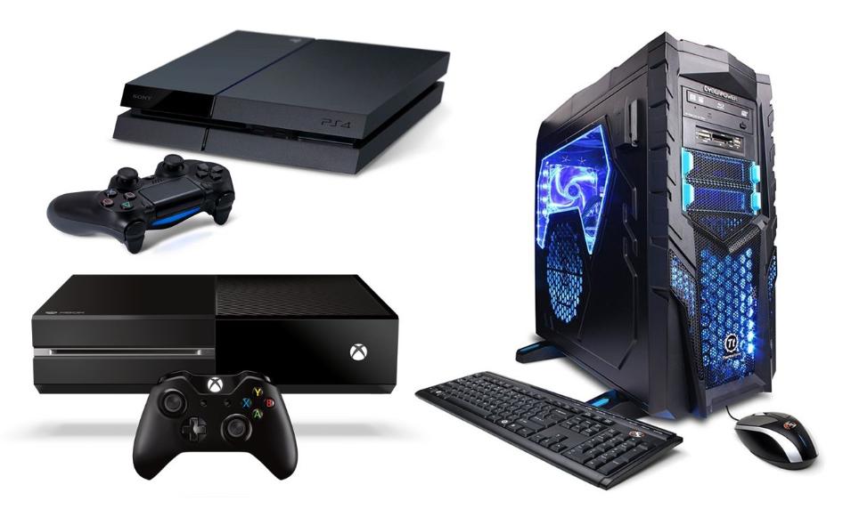 meglio giocare su PC o console